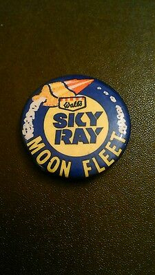 Walls Sky Ray Moon Fleet Vintage Pin Badge.