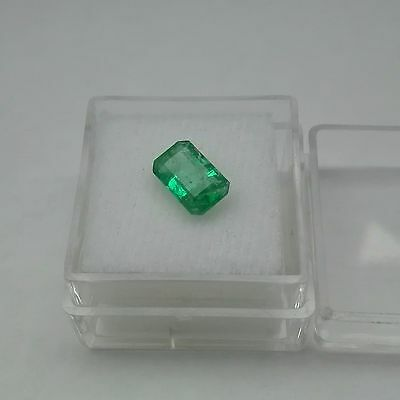 1.44 ct Emerald 9.07x05.56x3.58 mm Natural loose green Colombian gemstone
