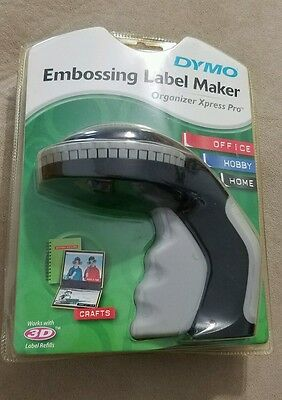 Dymo Organizer Xpress Pro Personal Embossing Label Maker Labeler 3d labels
