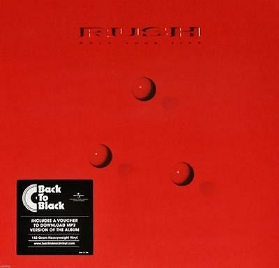 RUSH- HOLD YOUR FIRE- LP remastered 180g  + download card