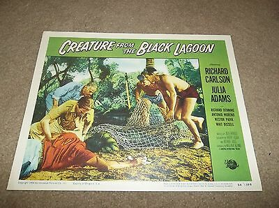 """1954 """"Creature From The Black Lagoon"""" 14"""" x 11"""" Theater Lobby Card, Reproduction"""