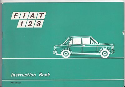Fiat 128 - 1970 - Instruction Book