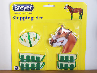 Breyer Horse Traditional Series 2062 Shipping Set New Factory Sealed Tack Acces.