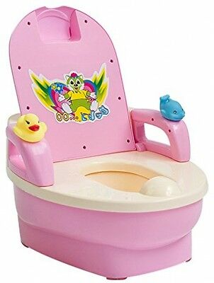 Toddler WC Potty Toilet Training Seats For Baby/Children, Pink
