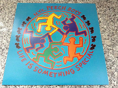 N.Y.C. PEECH BOYS life is something special RARE KEITH HARING ART COVER MINT LP