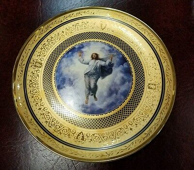 RAPHAEL'S TRANSFIGURATION LIMITED EDITION Plate by Vatican Museum