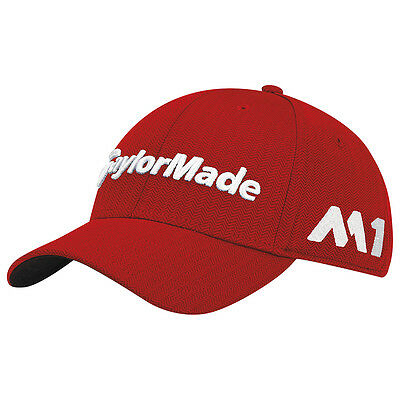 Taylormade TM17 Tour Radar Golf Cap Red, One Size Adjustable - NEW!!