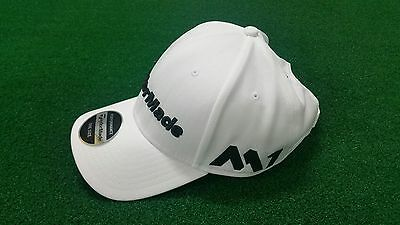 Taylormade TM17 Tour Radar Golf Cap White, One Size Adjustable - NEW!!