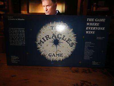 "NEW Religious Board Game ""The Miracles Game"" Based On ""A Course In Miracles"""