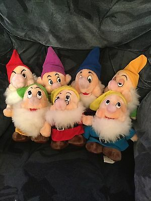 Disney 7 Dwarves Vintage 8inch Plush - Original Design