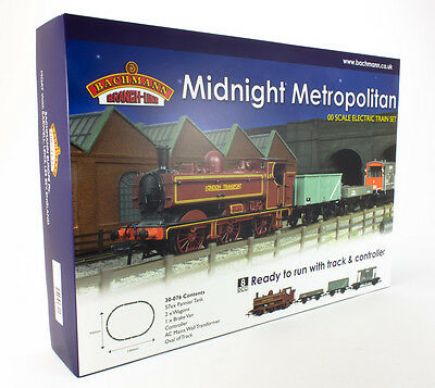 Bachmann Midnight Metropolitan London Transport Trainset + Bonus Woodlands DVD