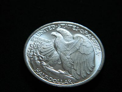 Walking Liberty Half Dollar Two Face Coin--INV51