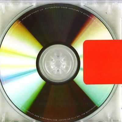 KANYE WEST Yeezus CLEAR LP VINYL NEW