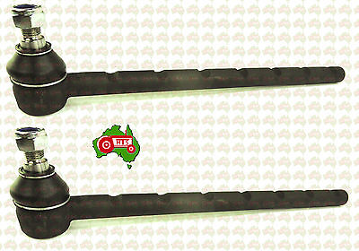 Pair Of Tractor Outer Tie Rod Slotted Massey Ferguson Fergy 595 1080 1085 2WD
