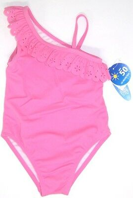 Wave Zone Infant & Toddler Girl's Pink One Piece Swimsuit NWT 18M  24M or 2T