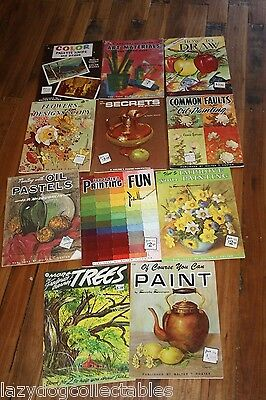Walter T Foster Vintage Art Learn to Paint Books x 11