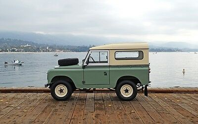 1965 Land Rover Other Series IIA 88 LHD 1965 Land Rover Series IIA LHD 88: Restored, Mechanically Strong California IIA