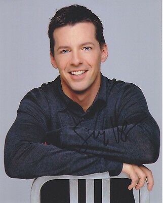"""Signed Original Color Photo of Sean Hayes of """"Will and Grace"""""""