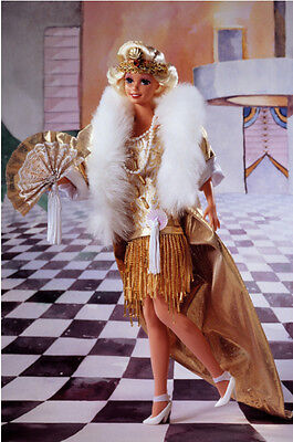 1993 1920's Flapper® Barbie® Doll - The Great Eras Collection - NEW