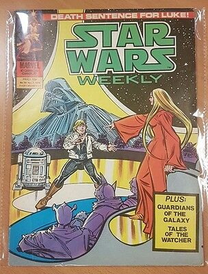 Star Wars Weekly ***ISSUE #89!!*** Marvel UK 1979 Comic Space Fantasy