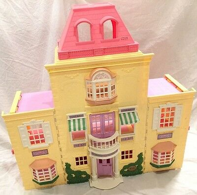 Fisher Price Loving Family Grand Mansion Twin Time DollHouse