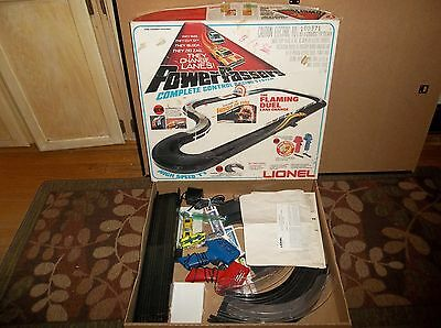 "Vintage 1977 Lionel ""Power Passers"" Slot Car Race Set"