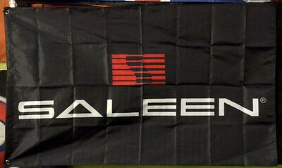 SALEEN LOGO FORD MUSTANG 3X5 BANNER FLAG modified gt muscle car advertising sign