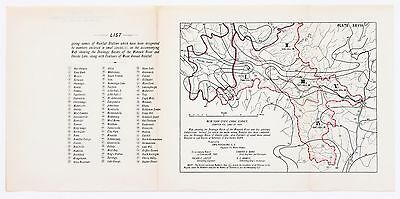 1901 New York State Canal Survey Map Mohawk River Drainage Basin ORIGINAL RARE