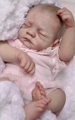 EMBER Reborn Baby Doll KIT. Cloth Body Included