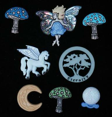 Dress it Up Buttons - Mythical & Magical