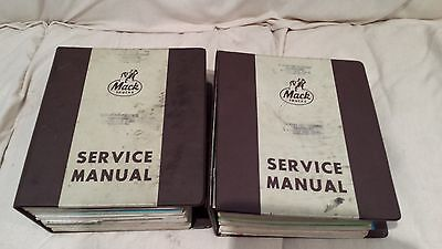 Mack Truck Service Manual TS576