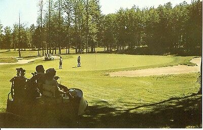 Postcard MONTICELLO New Jersey/NJ  Kutsher's Golf Course Country Club 1960's