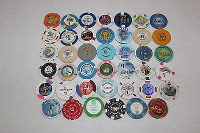 World Poker Chip Collection Vegas Macau Montreal and more
