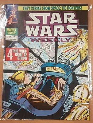 Star Wars Weekly ***ISSUE #108!!*** Marvel UK 1980 Comic Space Fantasy