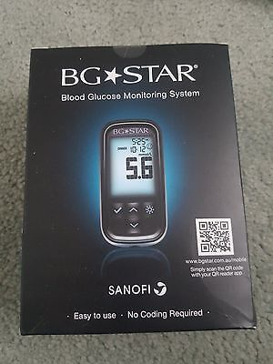 BG Star Blood Glucose monitoring system - Brand new in box - free test strips