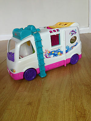 Fisher Price Loving Family Beach Vacation Mobile Home Campervan