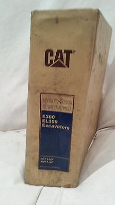 CAT Service Manual E300 EL300 Excavators