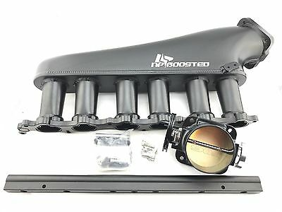 1993+ TOYOTA SUPRA MK4 2JZ-GTE CUSTOM INTAKE MANIFOLD KIT w/ 90MM THROTTLE BODY