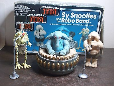 Vintage Star Wars Max Rebo Band Boxed 1983