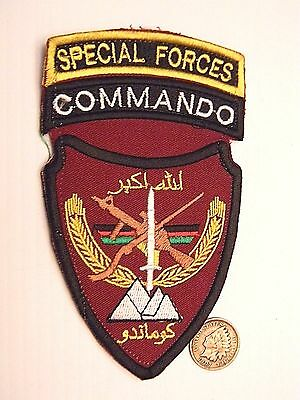 """Afghanistan """"special Forces - Commando"""" Patch - Theater Made - Original"""