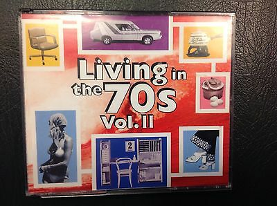 Living In The 70,s Volume 2 - 40 Hits Double Cd - Excellent Condition