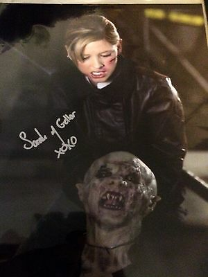 sarah michelle gellar signed Photo 8x10 With Coa Buffy Autograph