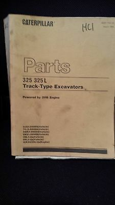 CAT Parts Manual 325 325L Track-Type Excavators