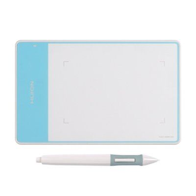 Huion Graphic Tablet 420 White Signature Pad 2048 Levels Art Drawing AU Stock
