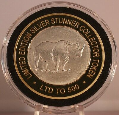 African Black Rhino Silver Stunner Coin - Limited Edition 500 Released
