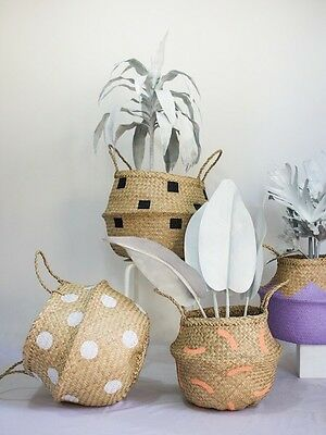 Large Seagrass Baskets. Different Gorgeous Styles