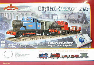 Bachmann Digital Starter Trainset 30-040 with bonus Woodlands scenic scenery DVD