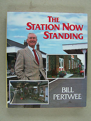"""the Station Now Standing."" Railway Trains Book."