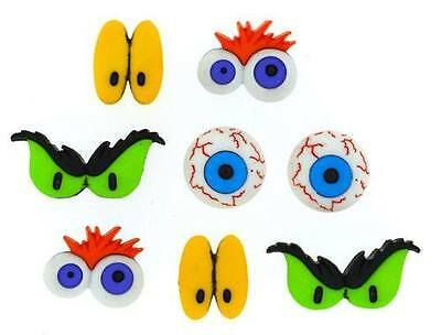 Dress it Up Buttons - Monster Eyes
