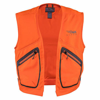 Sitka BALLISTIC Vest ~ Blaze Orange Medium NEW ~ U.S. FREE SHIPPING